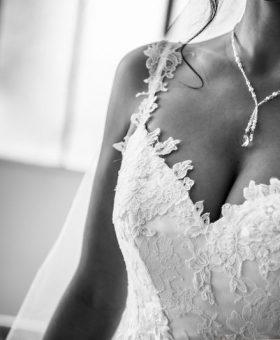 PROMESSE TENUE robe de mariée romantique en tulle pailleté