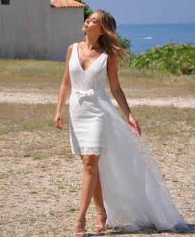 8-robes de mariée courtes