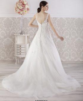 Robe de mariée romantique avec traine MODENA