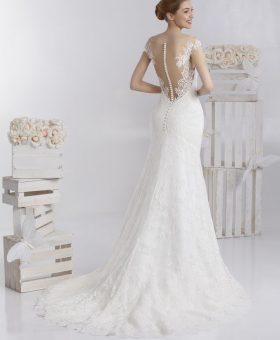 robe de mariée sirène en dentelle - STEFIE