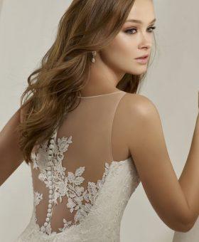 robe de mariée sirène en dentelle - PLUME