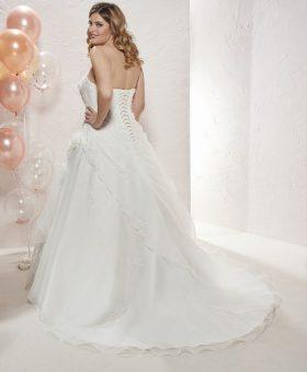 CARLA robe de mariée grande taille