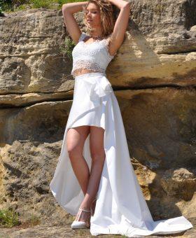 7-robes de mariée courtes - mariage civil