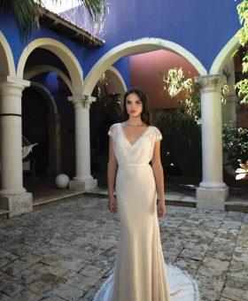CIGALE robe de mariée bohème à prix très doux