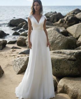 1-robes de mariée bohème et dentelle