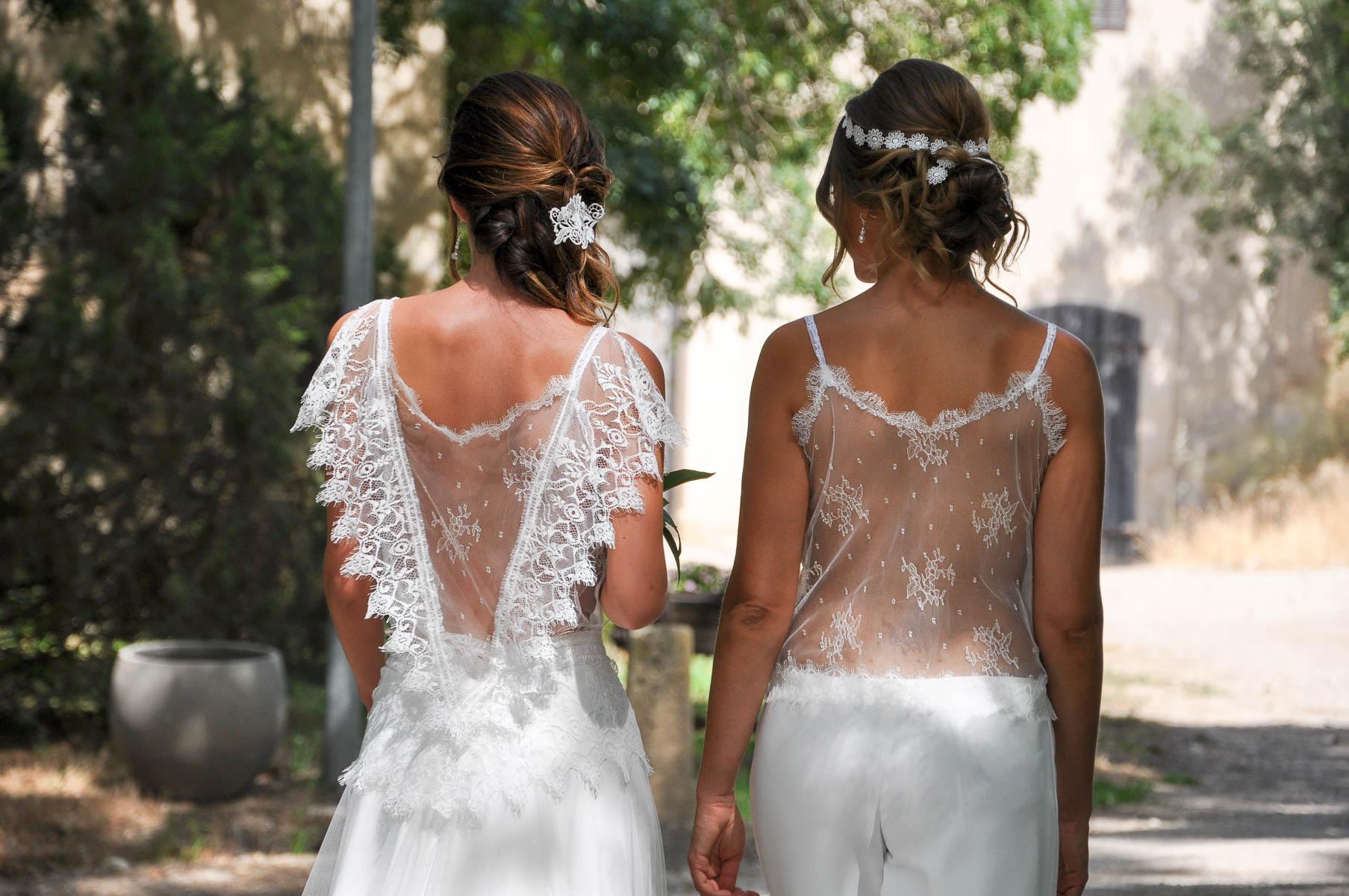robe de mariée pour mariage champêtre et