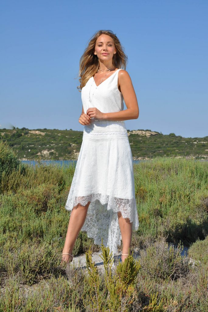 robe de mariée courte charleston ELSA
