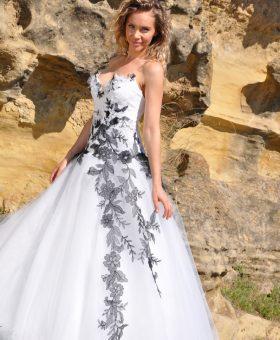 6-robes de mariée en couleur