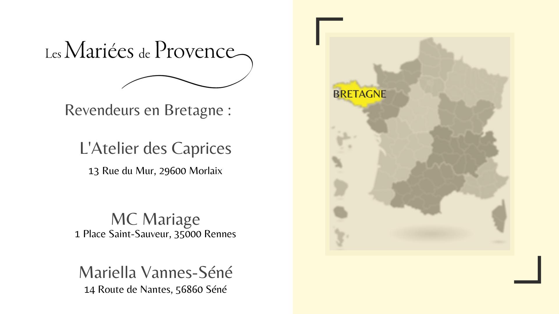 Boutiques mariage Bretagne