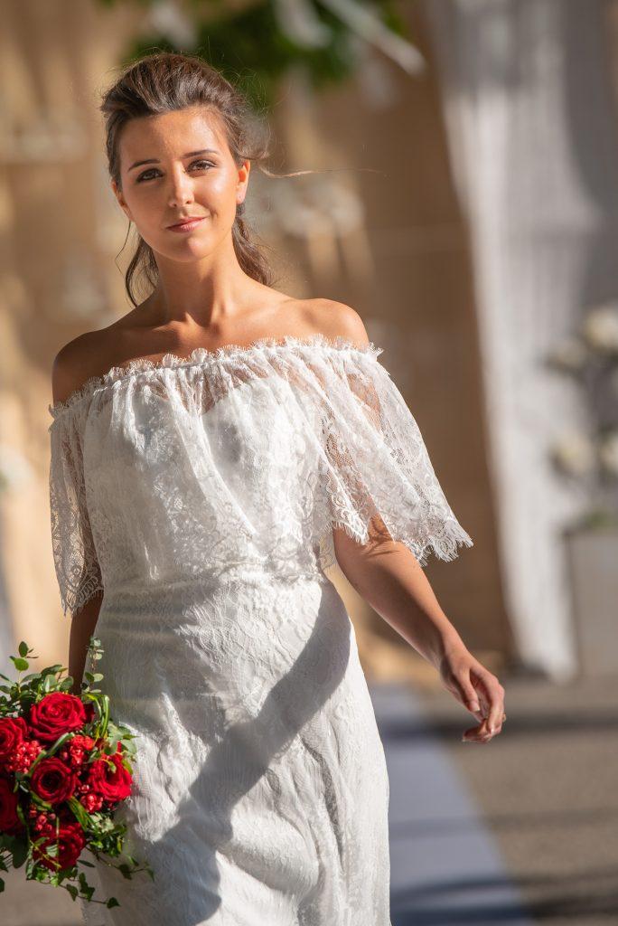 Robe De Mariée Champêtre En Dentelle Tina Un Jour Une Mariée