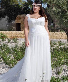 5- robes de mariée grande taille