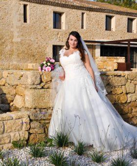 LAURA robe de mariée grande taille