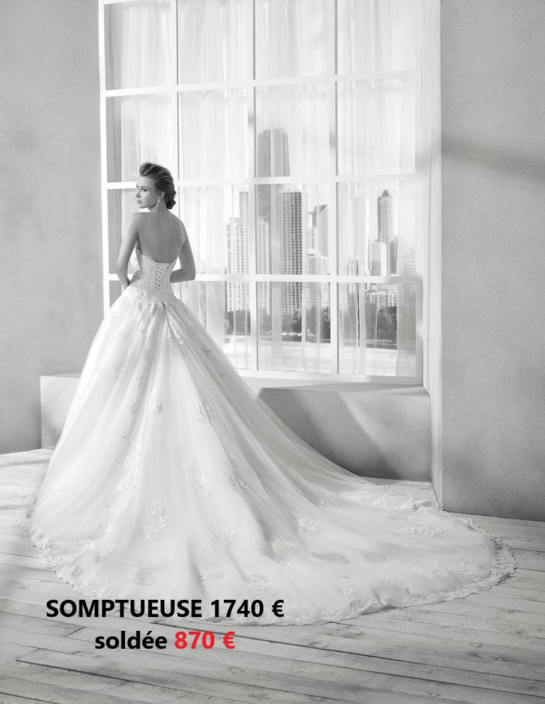 SOLDES D'ETE 2020 – 50% sur nos robes de mariée en stock